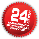 24 Hour Emergency Commercial Service